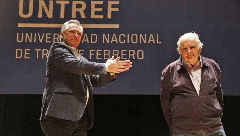 El emotivo mensaje de Alberto a Pepe Mujica: No te estás despidiendo, nunca te vas