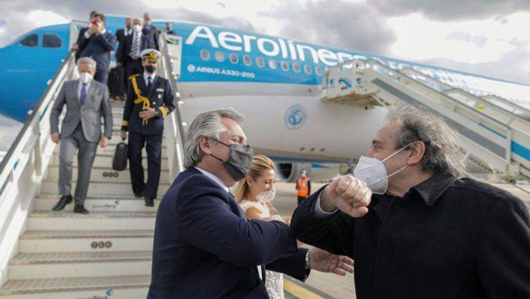 Alberto Fernández será recibido por el rey Felipe VI