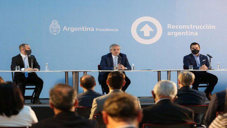 El presidente Fernández