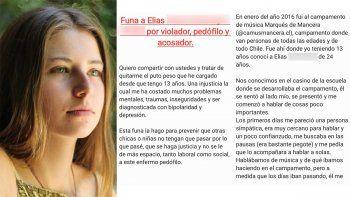 Rafaela Vicuña, sobrina del actor chileno, confesó que fue violada a los 13 años