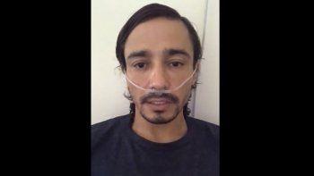 Matías Milla se está recuperando del Coronavirus.
