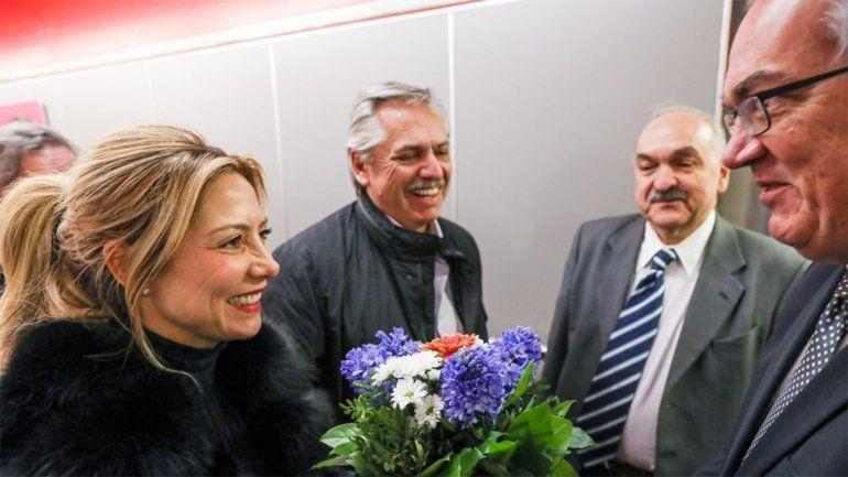 Alberto Fernández llegó a Alemania y se reunirá con Merkel