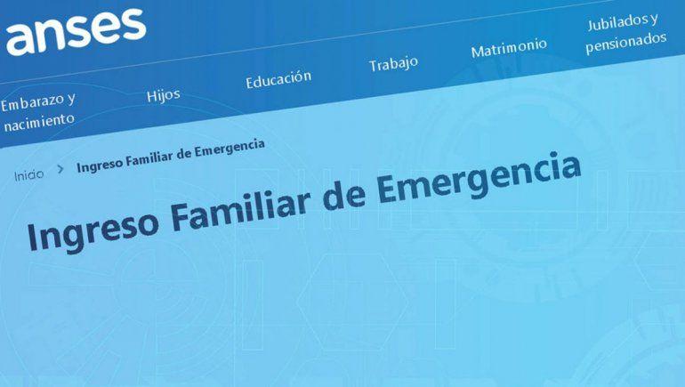 Más de 90 mil neuquinos recibirán el Ingreso Familiar de Emergencia
