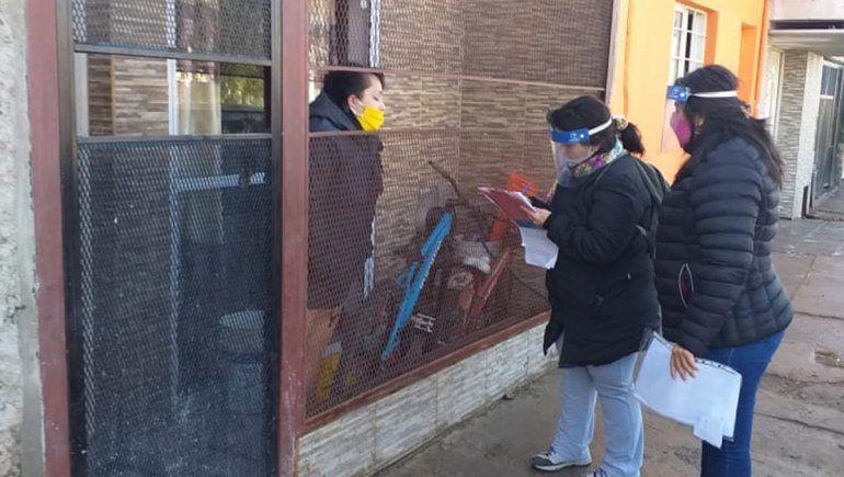 DetectAR identificó 197 casos y relevó a 35 mil familias en Neuquén