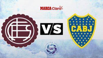 Boca visitará al Lanús por la Liga Argentina