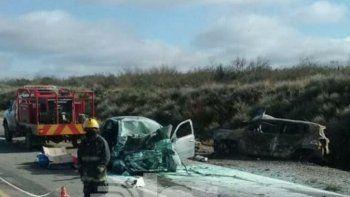 Las víctimas del trágico choque en Chichinales eran de Bahía Blanca