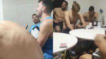 video: vodka y timba en la villa olimpica, con doncic en medio del escandalo