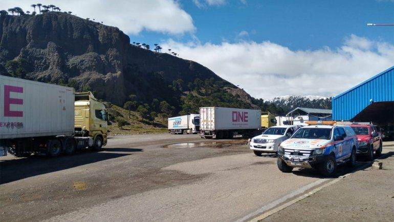 Nueva cepa: cuántos camiones ingresan por día desde Chile y qué medidas prevén