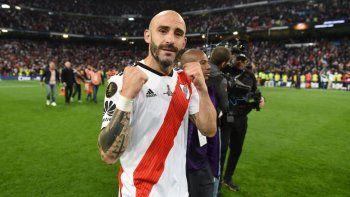 Javier Pinola estará fuera de la plantilla de River por tres meses