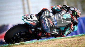 Fabio Quartararo ganó la final del Moto GP en Jerez de la Frontera y Marc Márquez protagonizó una caída que le produjo la fractura del húmero derecho.