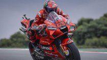Francesco Bagnaia fue el más veloz del viernes del MotoGP en Portimao