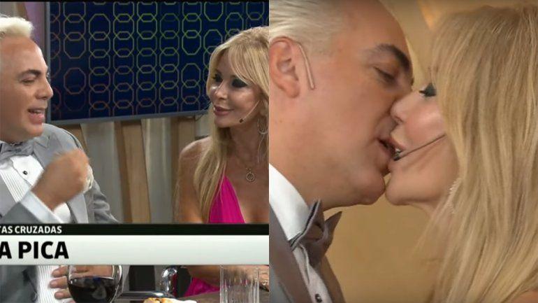 Cristian Castro y Graciela Alfano calentaron el último PH: revelaciones amorosas, un apasionado beso y un accidente hot