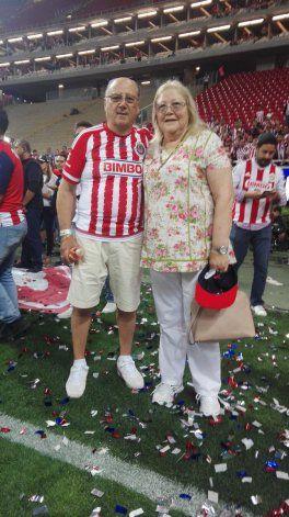 La mamá de Almeyda confirmó la triste noticia de la muerte de su marido.