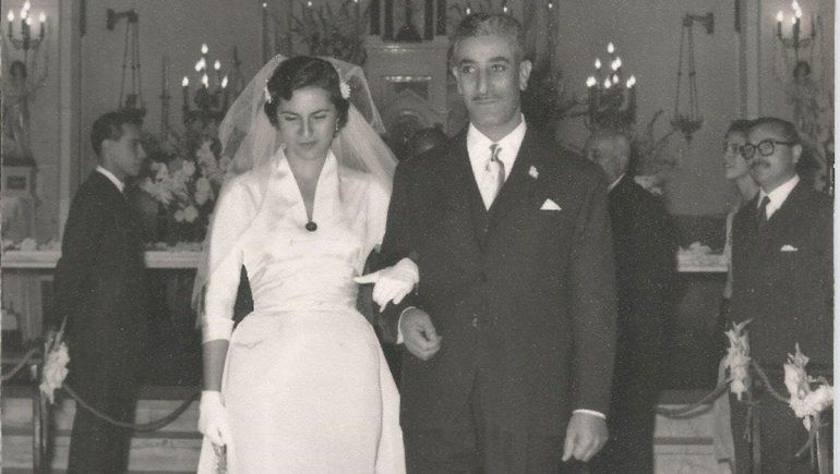 Isaac Afione y Beatriz Pérez.