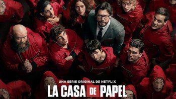 La Casa de Papel, la segunda serie más popular de Netflix