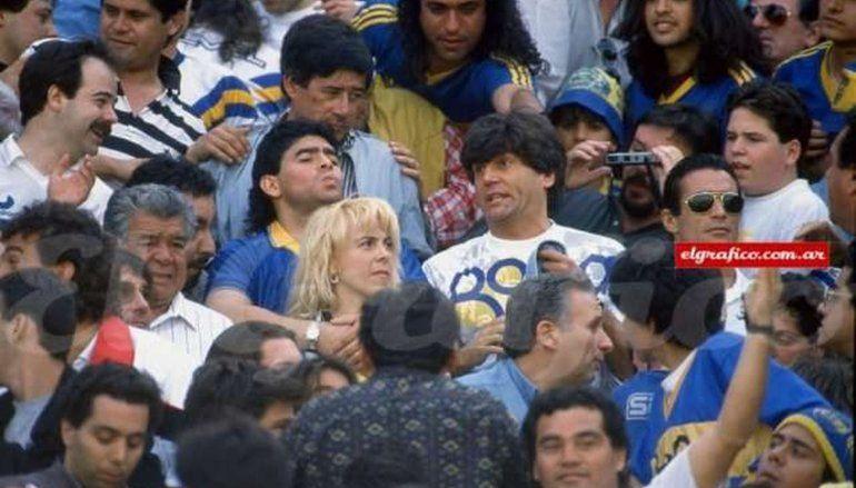 La muerte de Carlín Calvo golpea a Boca: la anécdota de tablón con Maradona
