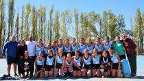 hockey: las chicas de san jorge, campeonas del regional