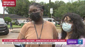 texas: un tiroteo en una escuela dejo un herido