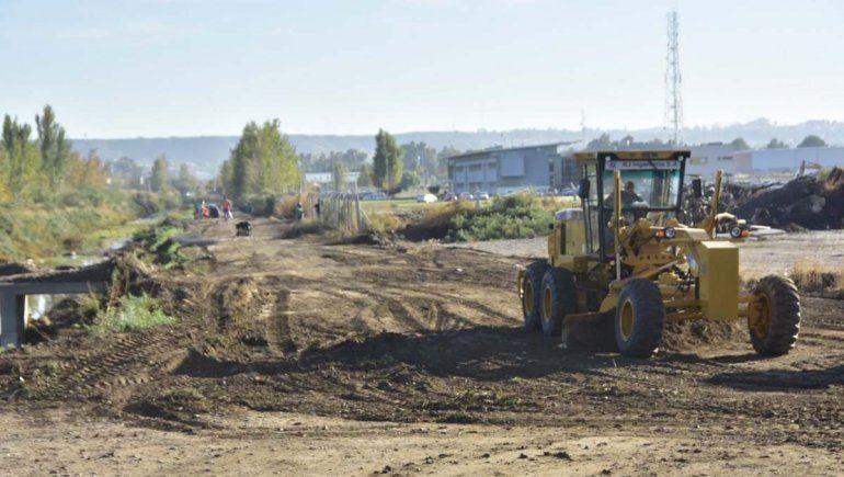 Ya comenzaron las obras para la apertura de la calle Saavedra
