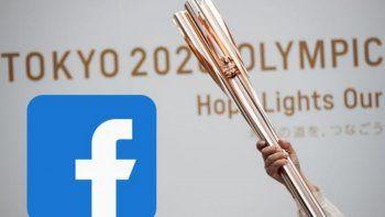 Facebook presentó animación en su logotipo por los Juegos Olímpicos.