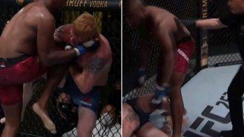 UFC: polémica en una pelea y acción.