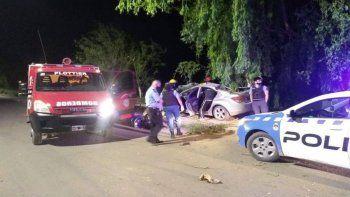 Plottier: volcaron tras una persecución policial de 5 kilómetros