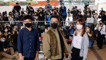 china detuvo al activista lider de hong kong