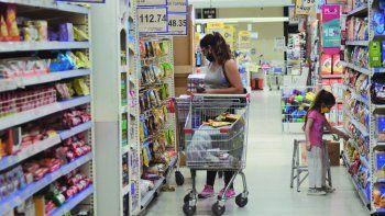 Los datos sobre supermercados corresponden al mes de julio
