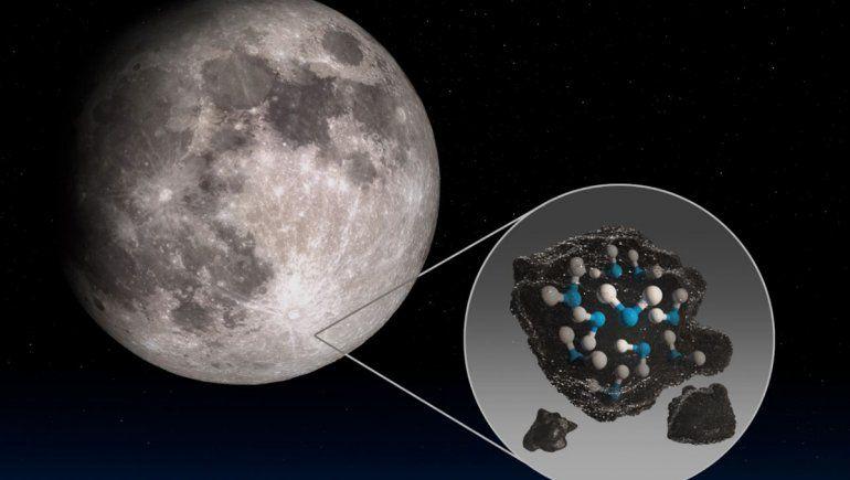 La NASA aseguró que hay agua en la superficie de la Luna