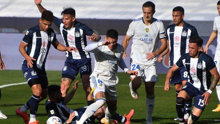 Boca empató con Talleres y sigue sin ganar en la Liga Profesional