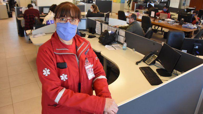 La enfermera del SIEN que combate la pandemia con el 0800