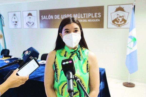 La ministra de Gobierno y Seguridad, Vanina Merlo.