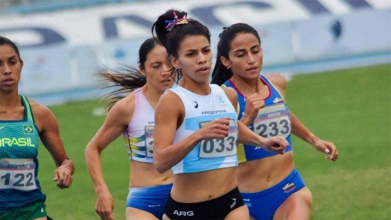La cipoleña Martina Escudero terminó séptima en el Sudamericano