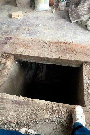 El nuevo dueño de la casa descubrió un sótano secreto.