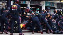 Red Bull hizo la parada en boxes más rápida de la Fórmula 1