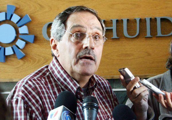 Elías Sapag, representante neuquino en la AIC reclama la emergencia hídrica.