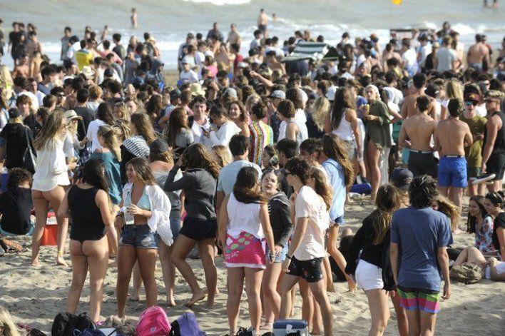 Pinamar: verano sin bebidas alcohólicas en la playa