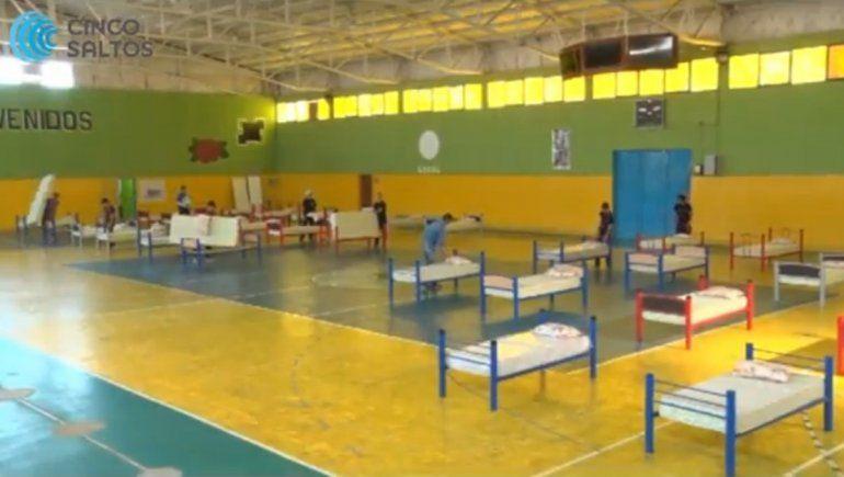 El municipio de Cinco Saltos contará con 130 camas para atender pacientes con coronavirus