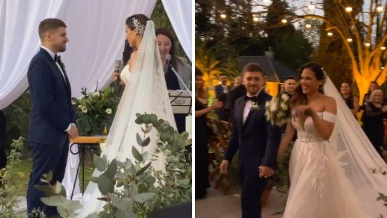 La boda soñada de Barbie Vélez y Lucas Rodríguez ¡Fotos!