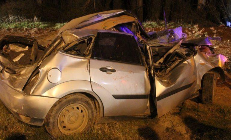 Alcohol al volante: falleció una mujer tras agonizar varios días