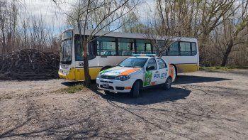 Cinco Saltos: chofer de un transporte escolar manejaba alcoholizado