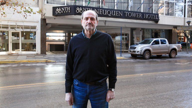 Ammann describió la situación del take away para los restoranes y hoteles de la ciudad.