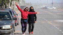 el pronostico para hoy: frio y ventoso en la region