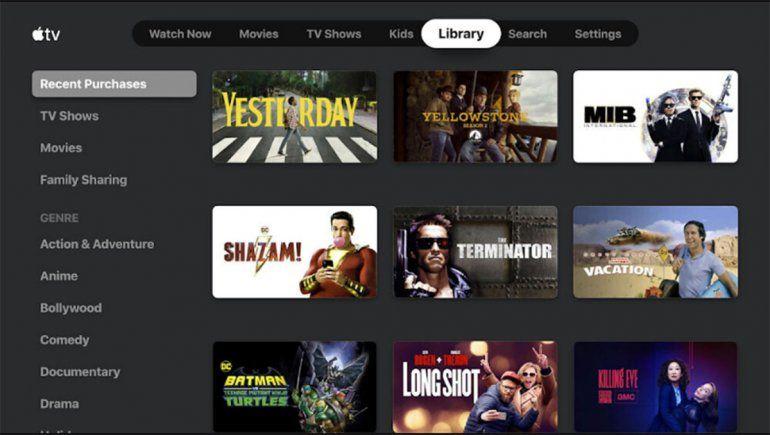 La aplicación de Apple TV llega a Chromecast y Android TV