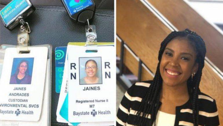 Facebook: joven se convirtió en enfermera en el hospital donde era conserje.