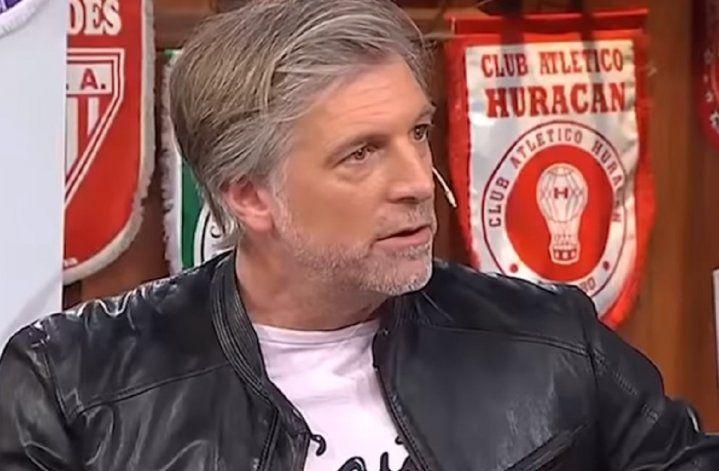 Horacio Cabak atendió duro al Pollo Vignolo.