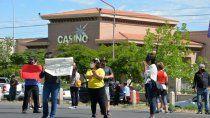empleados del casino reclaman reapertura de la actividad