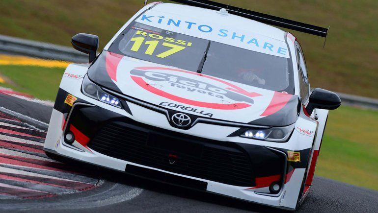 Matías Rossi fue décimo en la clasificación del Stock Car.