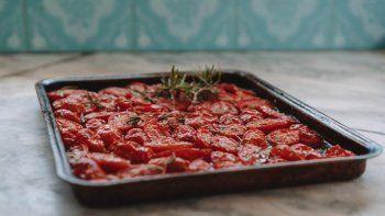 receta facil: tomates confitados