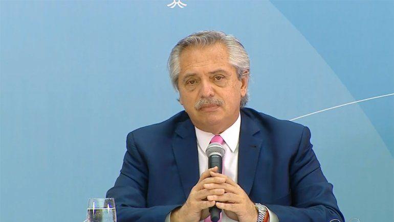 Alberto Fernández: Nosotros no hablamos del segundo semestre